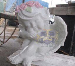 Скульптура. Ангел на памятник - 5025