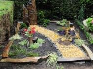 Ландшафтный дизайн при благоустройстве могил на кладбище - 60