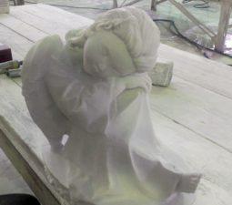 Как изготавливают скульптуры из мрамора? - 610