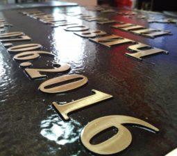 Оформление из бронзы и латуни - 6111