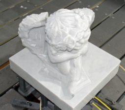 Как изготавливают скульптуры из мрамора? - 612