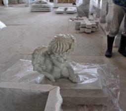 Как изготавливают скульптуры из мрамора? - 616