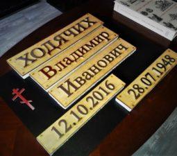 Накладные надписи и орнаменты (сталь, латунь, бронза) - 6161