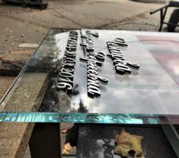 Накладные надписи и орнаменты (сталь, латунь, бронза) - 6168