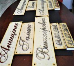 Накладные надписи и орнаменты (сталь, латунь, бронза) - 6173
