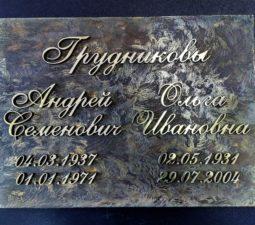 Накладные надписи и орнаменты (сталь, латунь, бронза) - 6191