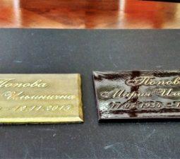 Накладные надписи и орнаменты (сталь, латунь, бронза) - 6216