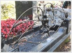 Мемориал Ограда на могилу — 10