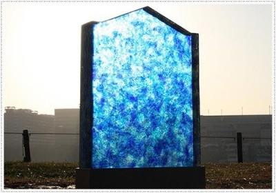 Надгробные памятники из стекла модель 006Мемориал