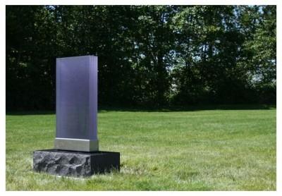 Надгробные памятники из стекла модель 012Мемориал