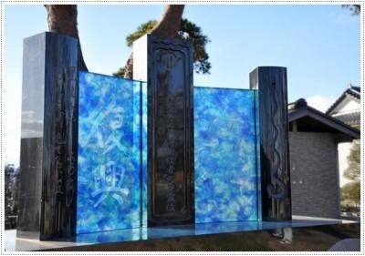 Надгробные памятники из стекла модель 014Мемориал