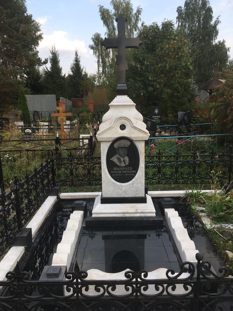 Реставрация памятника на кл. в г. Москва - Мемориал Арт