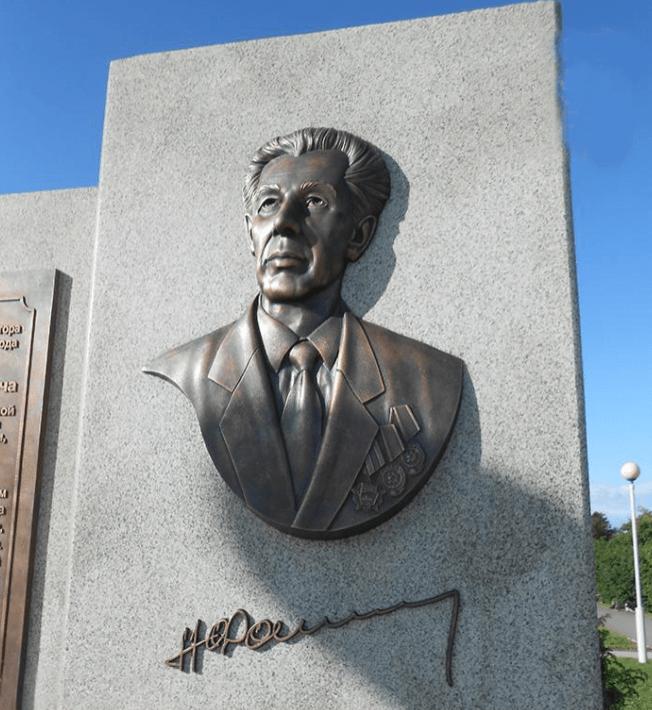 Барельеф на памятник №2Мемориал