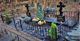 Памятник валун на могилу - 00-Фото-карточки-22