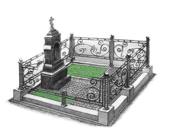 Памятник валун на могилу - 010-12