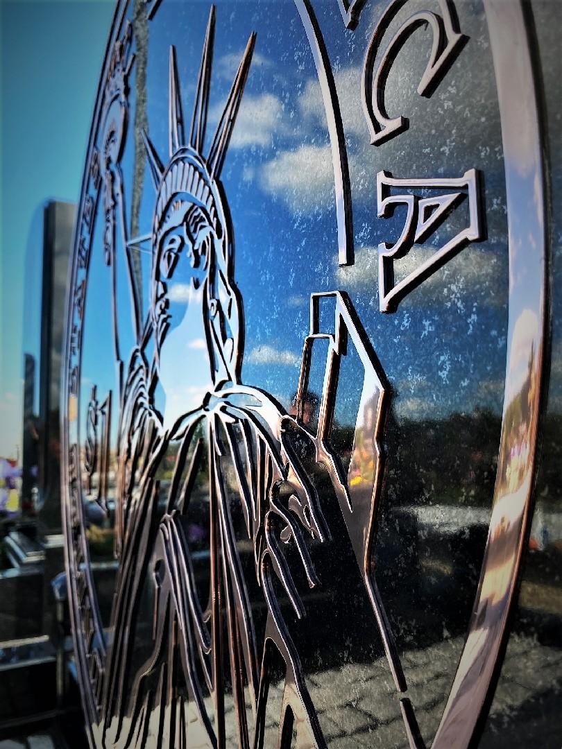Орнамент из нержавеющей стали на памятник - Мемориал Арт