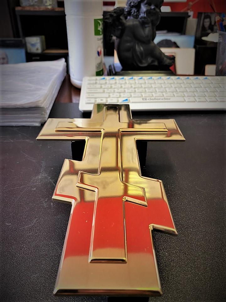 Крест на памятник - Мемориал Арт