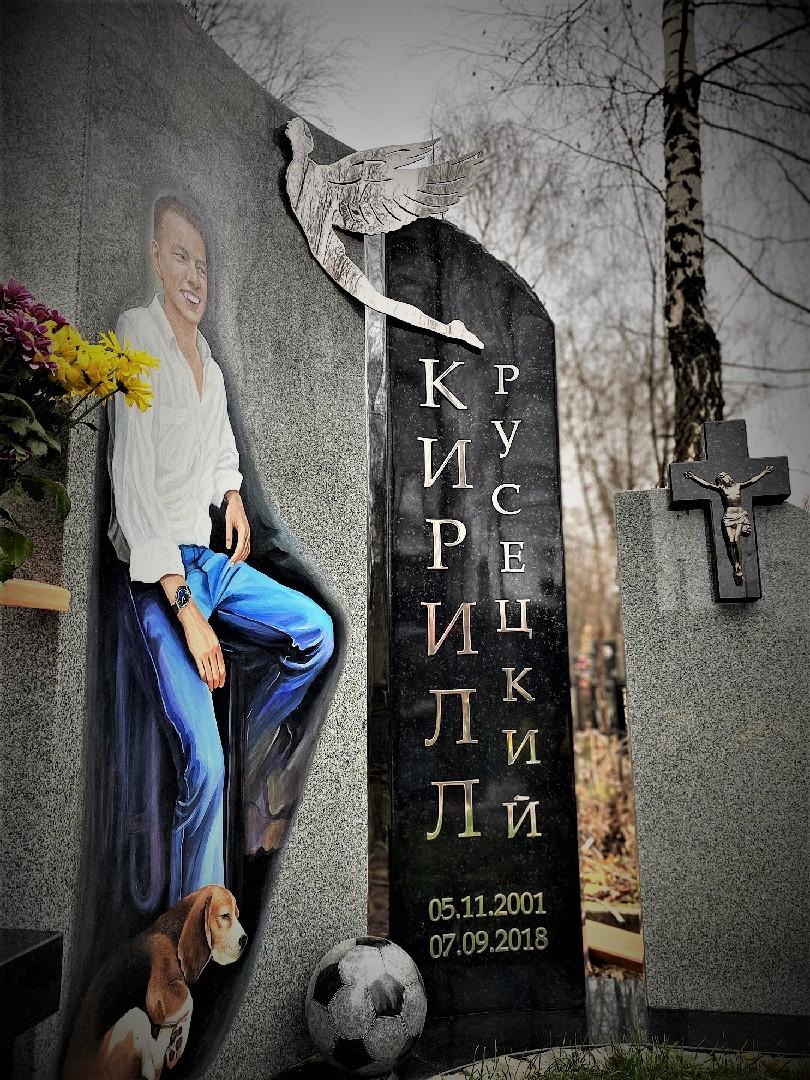 Портрет акрилом большой 150 см - Мемориал Арт