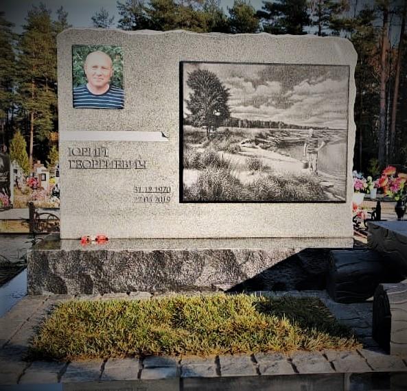 Фото в керамике № 11 - Мемориал Арт