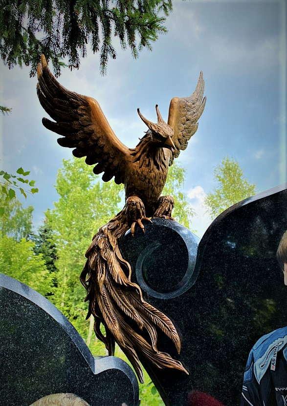 Барельеф на памятник № 3 - Мемориал Арт